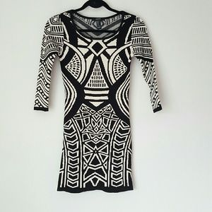 Forever 21 body con sweater dress
